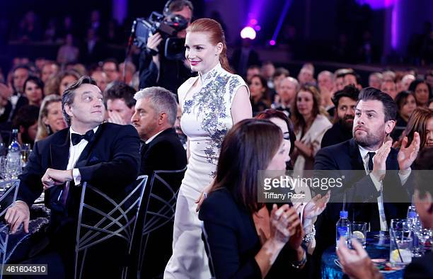 Actress Jessica Chastain attends the 20th annual Critics' Choice Movie Awards at the Hollywood Palladium on January 15 2015 in Los Angeles California