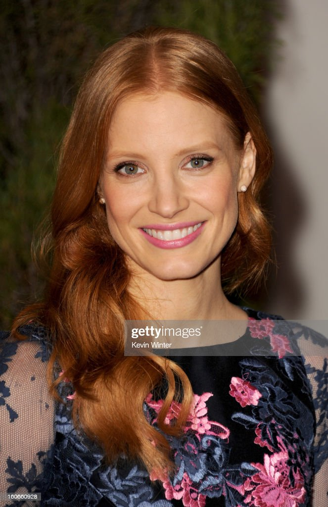 Actress Jessica Chastain attends the 85th Academy Awards Nominations Luncheon at The Beverly Hilton Hotel on February 4, 2013 in Beverly Hills, California.