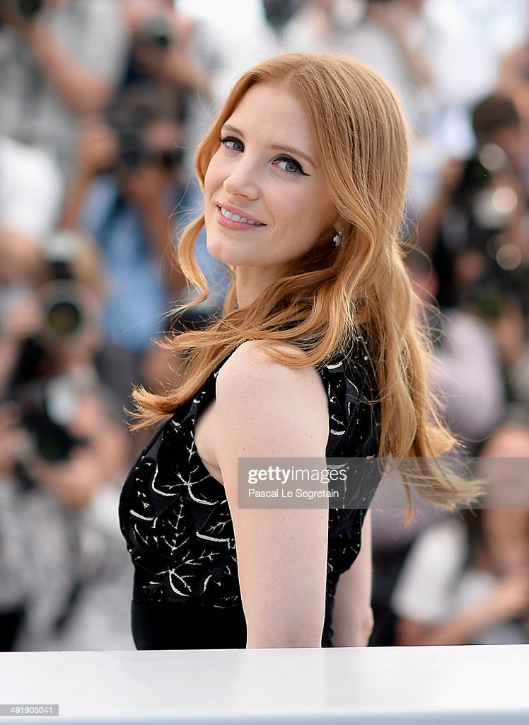 Actress Jessica Chastain attends 'The Disappearance of Eleanor Rigby' photocall at the 67th Annual Cannes Film Festival on May 18, 2014 in Cannes, France.