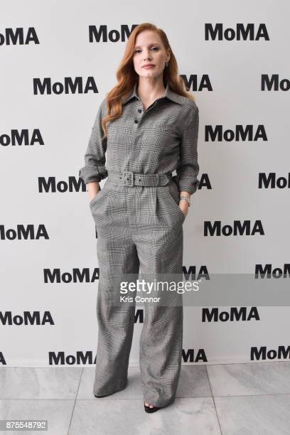 Actress Jessica Chastain attends the MoMA's Contenders Screening of 'Molly's Game' at MOMA on November 17 2017 in New York City