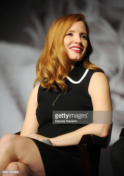 Actress Jessica Chastain attends The Pirelli Calendar Presents Peter Lindbergh On Beauty at Cipriani Wall Street on February 13 2017 in New York City