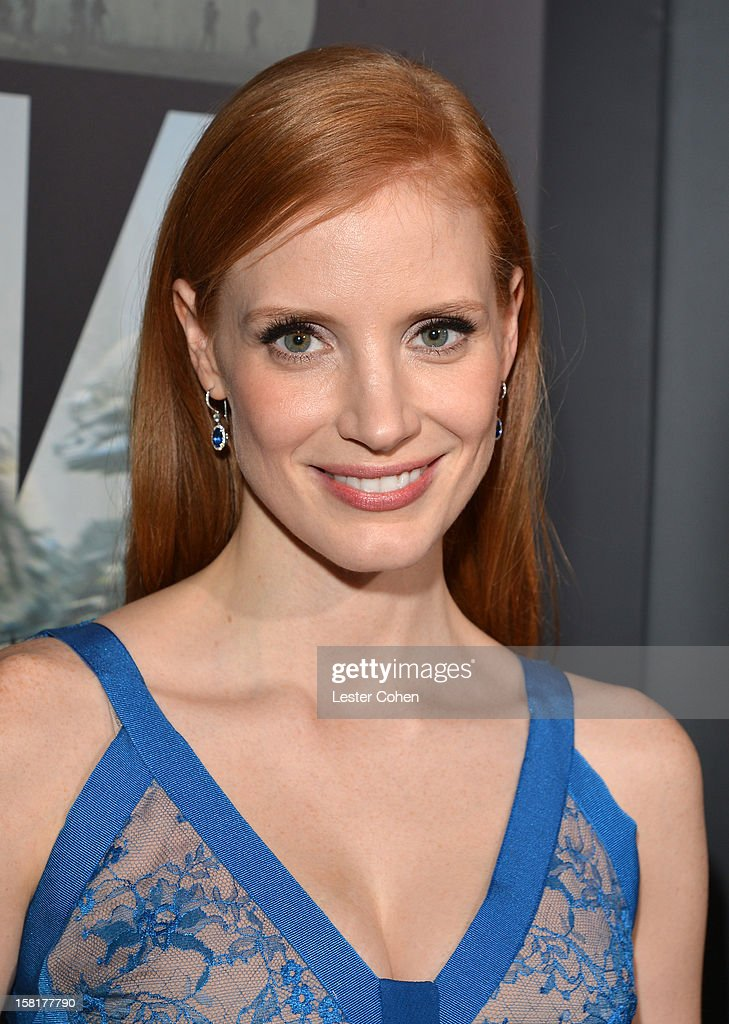 Actress Jessica Chastain attends the 'Zero Dark Thirty' Los Angeles Premiere at Dolby Theatre on December 10, 2012 in Hollywood, California.