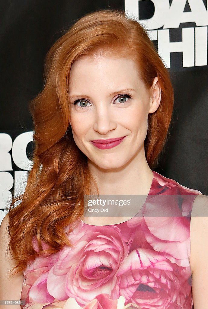 Actress Jessica Chastain attends the 'Zero Dark Thirty' New York Photo Call at Ritz Carlton Hotel on December 4, 2012 in New York City.