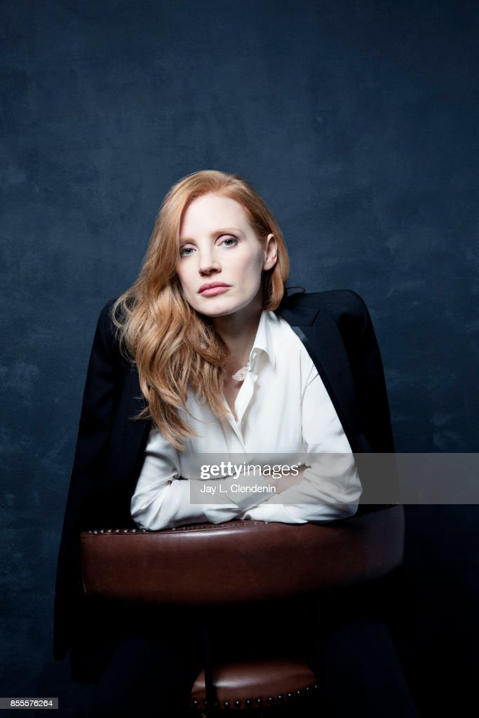 Actress Jessica Chastain, from the film 'Woman Walks Ahead,' poses for a portrait at the 2017 Toronto International Film Festival for Los Angeles Times on September 10, 2017 in Toronto, Ontario.