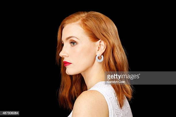 Actress Jessica Chastain is photographed for Los Angeles Times on September 2 2015 in New York City PUBLISHED IMAGE CREDIT MUST BE Carolyn Cole/Los...