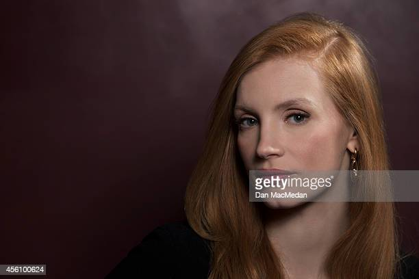 Actress Jessica Chastain is photographed for USA Today on January 14 2013 in Los Angeles California