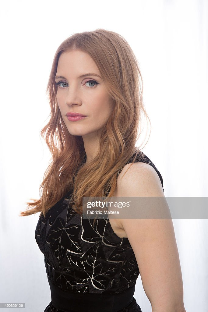 Actress Jessica Chastain is photographed in Cannes, France.