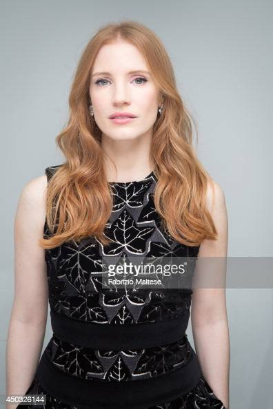 Actress Jessica Chastain is photographed in Cannes France
