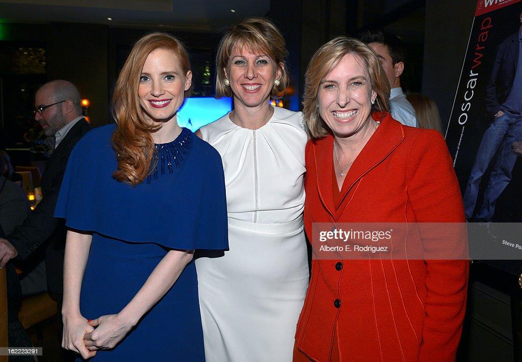 TheWrap 4th Annual Pre-Oscar Party - Inside