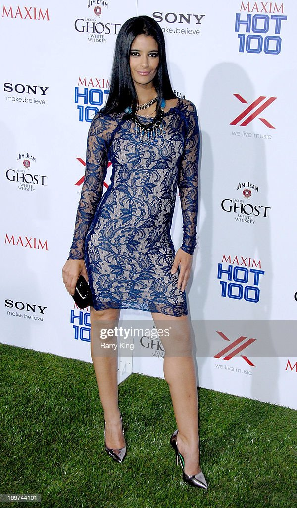 Actress Jessica Clark arrives at the Maxim 2013 Hot 100 Party held at Create on May 15, 2013 in Hollywood, California.