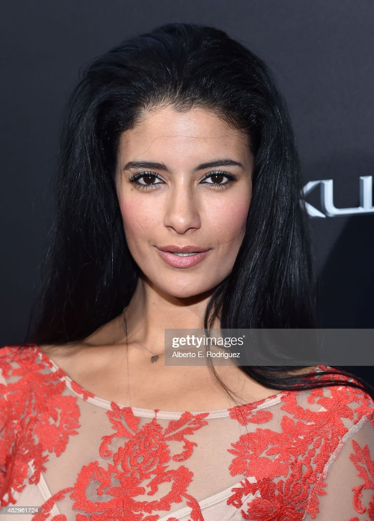 Actress Jessica Clark arrives to The Weinstein Company and Lexus Present Lexus Short Films at The Regal Cinemas L.A. Live on July 30, 2014 in Los Angeles, California.