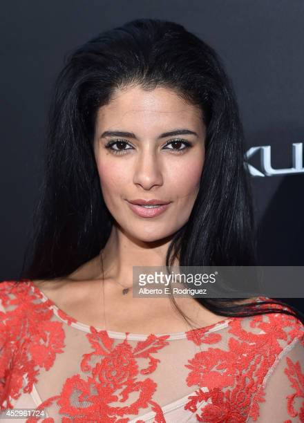 Actress Jessica Clark arrives to The Weinstein Company and Lexus Present Lexus Short Films at The Regal Cinemas LA Live on July 30 2014 in Los...