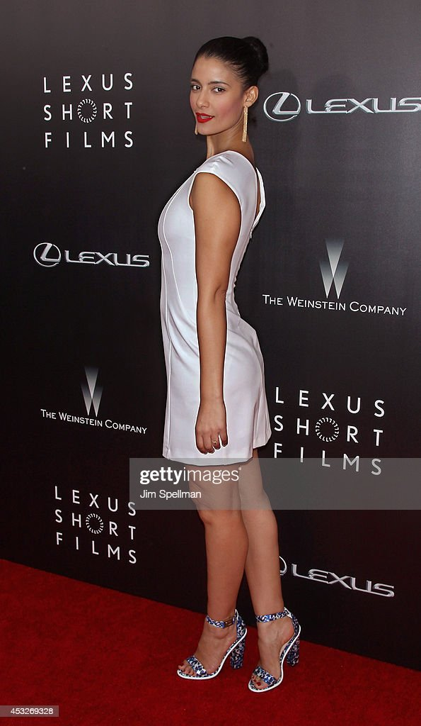 Actress Jessica Clark attends the 'Life is Amazing' Lexus Short Films Series at SVA Theater on August 6, 2014 in New York City.