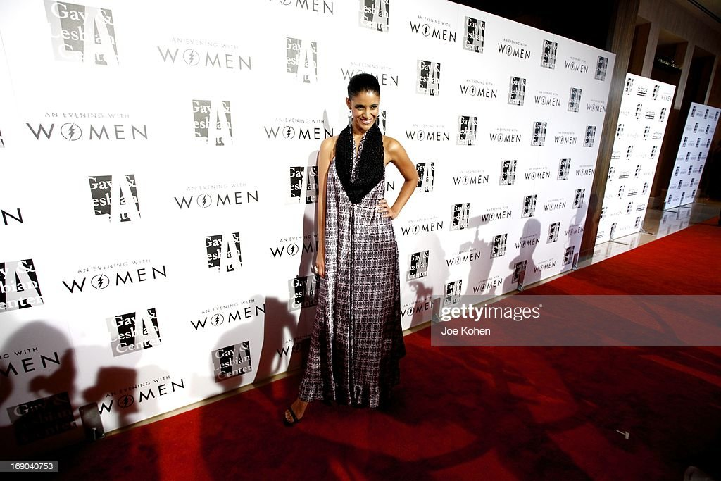 Actress Jessica Clark attneds the L.A. Gay & Lesbian Center's 2013 'An Evening With Women' Gala at The Beverly Hilton Hotel on May 18, 2013 in Beverly Hills, California.