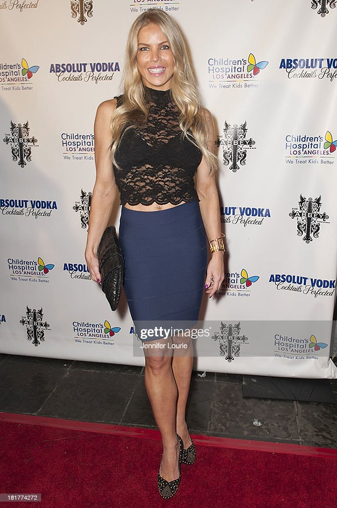 Actress Jessica Conseco attends The Abbey's 8th Annual Christmas in September event benefiting The Children's Hospital Los Angeles at The Abbey on September 24, 2013 in West Hollywood, California.
