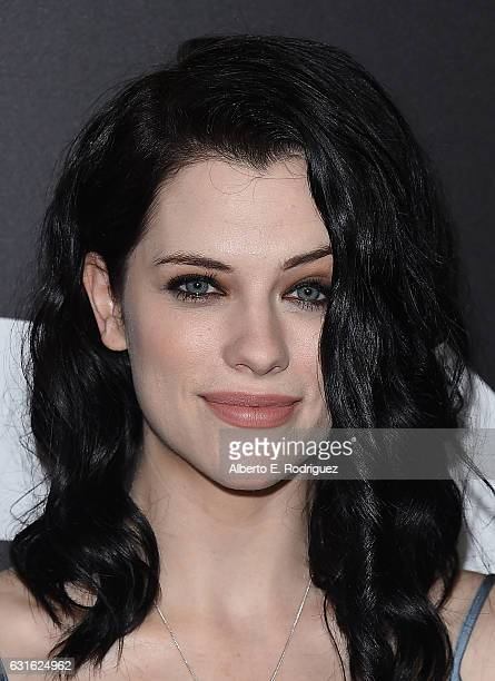 Actress Jessica de Gouw attend the photo call for WGN America's 'Underground' and 'Outsiders' at The Langham Hotel on January 13 2017 in Pasadena...