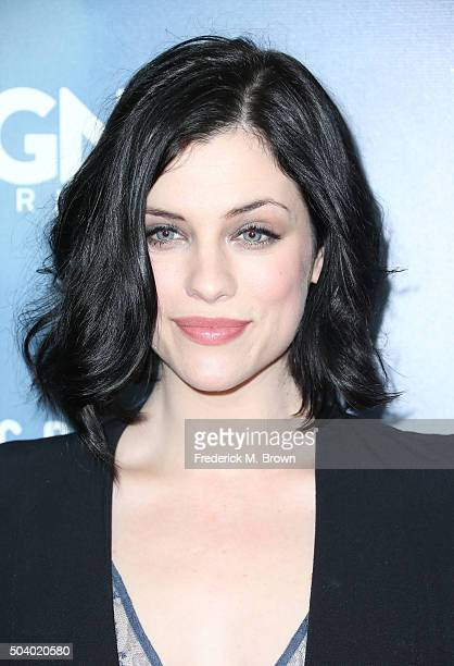 Actress Jessica de Gouw attends WGN America Winter TCA Tour 'Underground' photocall at Langham Hotel on January 8 2016 in Pasadena California