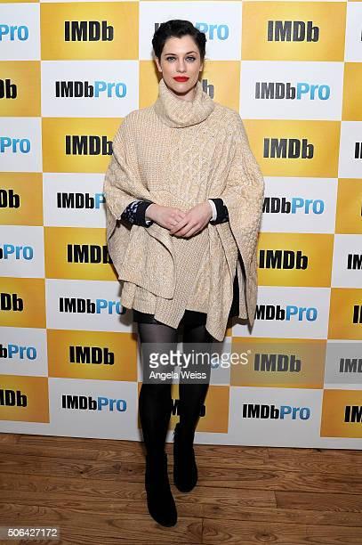 Actress Jessica De Gouw in The IMDb Studio In Park City Utah Day Two on January 23 2016 in Park City Utah