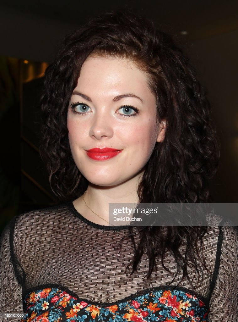 Actress Jessica Doherty attends the BAFTA Brits to Watch: The Screening of Burton and Taylor With Richard Laxton at WME Screening Room on October 17, 2013 in Los Angeles, California.