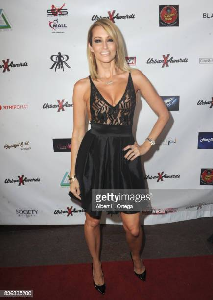 Actress Jessica Drake arrives for the 6th Urban X Awards held at Stars On Brand on August 20 2017 in Glendale California