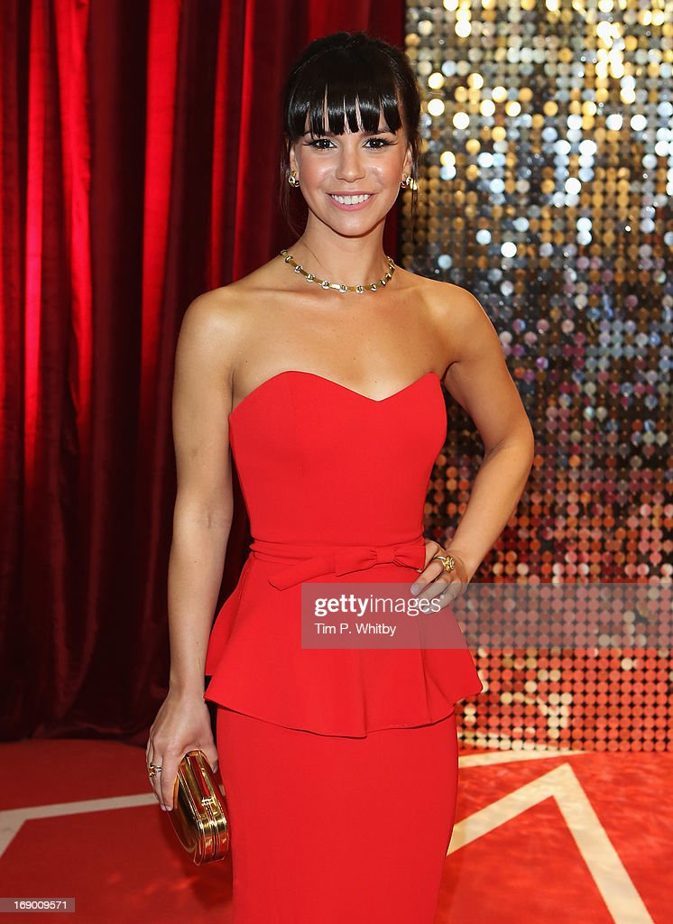 Actress Jessica Fox attends the British Soap Awards at Media City on May 18, 2013 in Manchester, England.