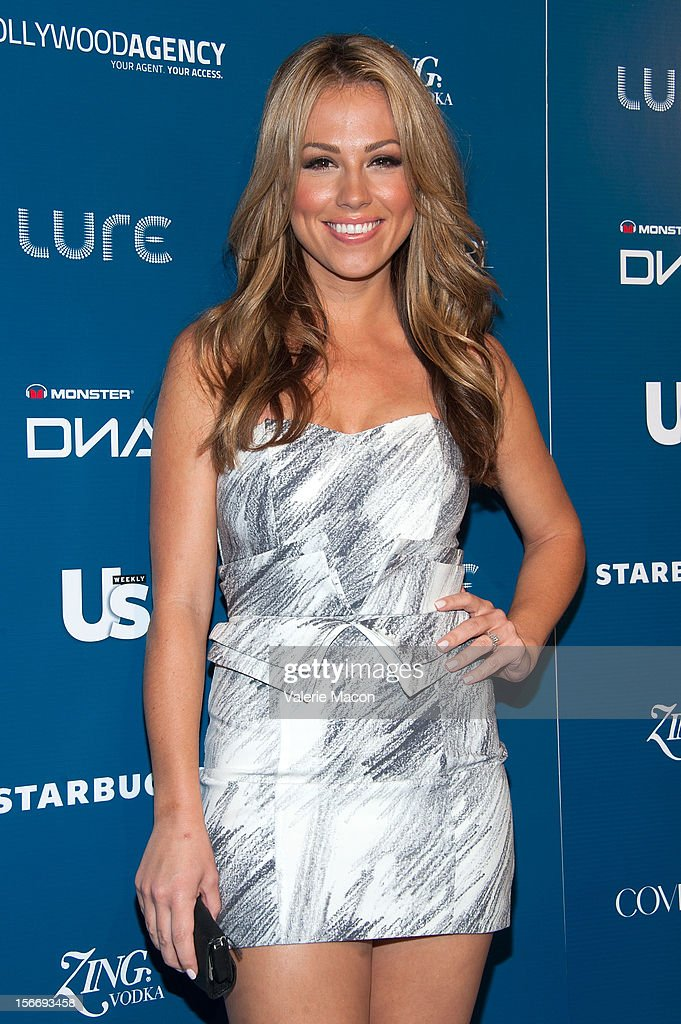 Actress Jessica Hall attends the US Weekly Music Party at AV Nightclub on November 18, 2012 in Hollywood, California.