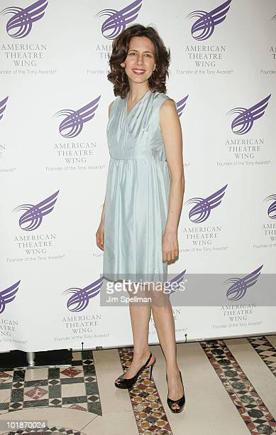 Actress Jessica Hecht attends the 2010 American Theatre Wing Spring Gala at Cipriani 42nd Street on June 7 2010 in New York City