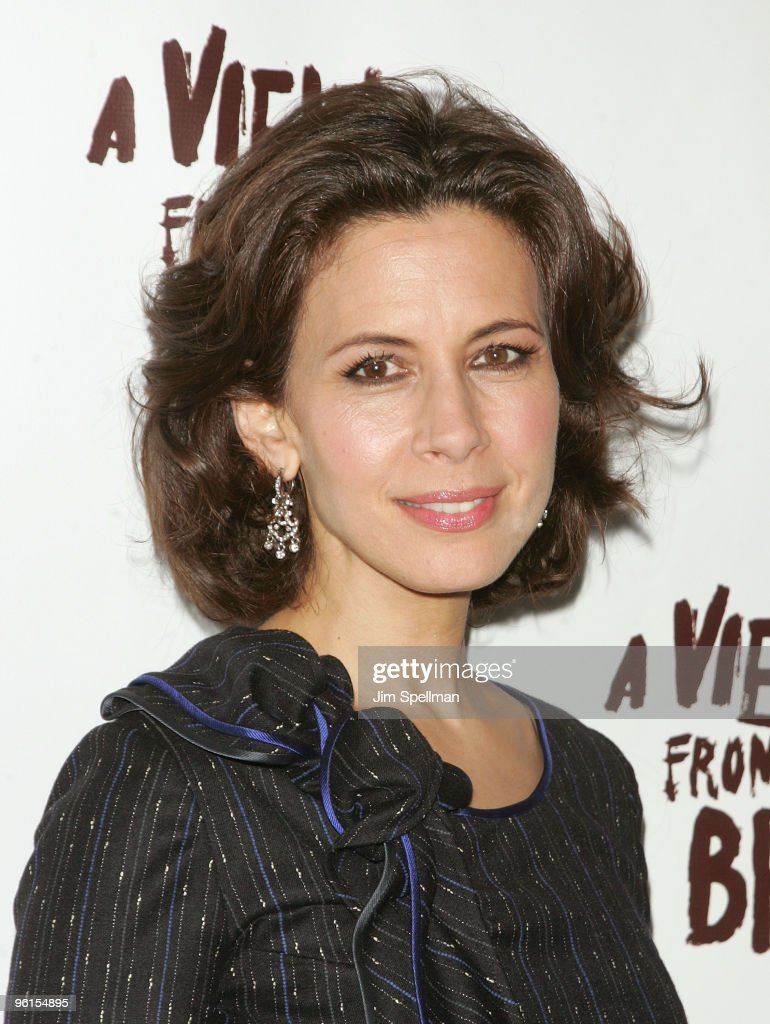 Actress Jessica Hecht attends the 'A View From The Bridge' Broadway opening night at the Cort Theatre on January 24, 2010 in New York City.