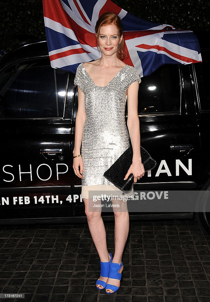 Actress Jessica Joffe attends the Topshop Topman LA flagship store opening party at Cecconi's Restaurant on February 13, 2013 in Los Angeles, California.