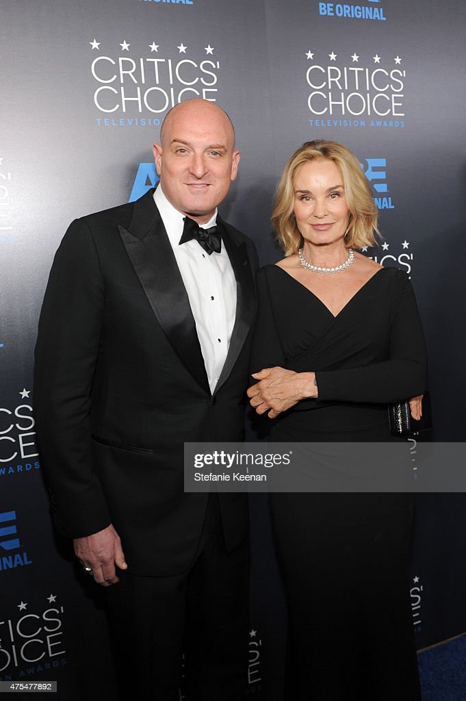 Actress Jessica Lange (R) and guest attend the 5th Annual Critics' Choice Television Awards at The Beverly Hilton Hotel on May 31, 2015 in Beverly Hills, California.