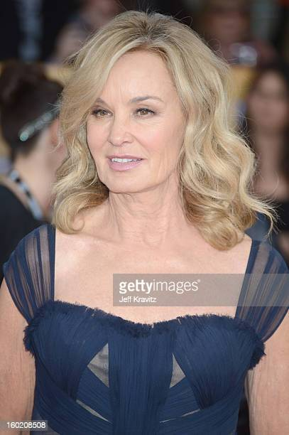 Actress Jessica Lange arrives at the 19th Annual Screen Actors Guild Awards held at The Shrine Auditorium on January 27 2013 in Los Angeles California