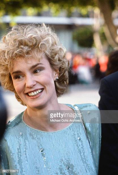 Actress Jessica Lange arrives to the 55th Academy Awards at Dorothy Chandler Pavilion in Los AngelesCalifornia