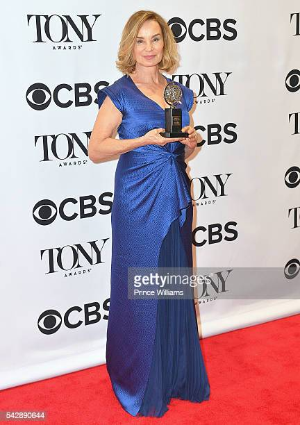 Actress Jessica Lange attends 70th Annual Tony Awards at Beacon Theatre on June 12 2016 in New York City
