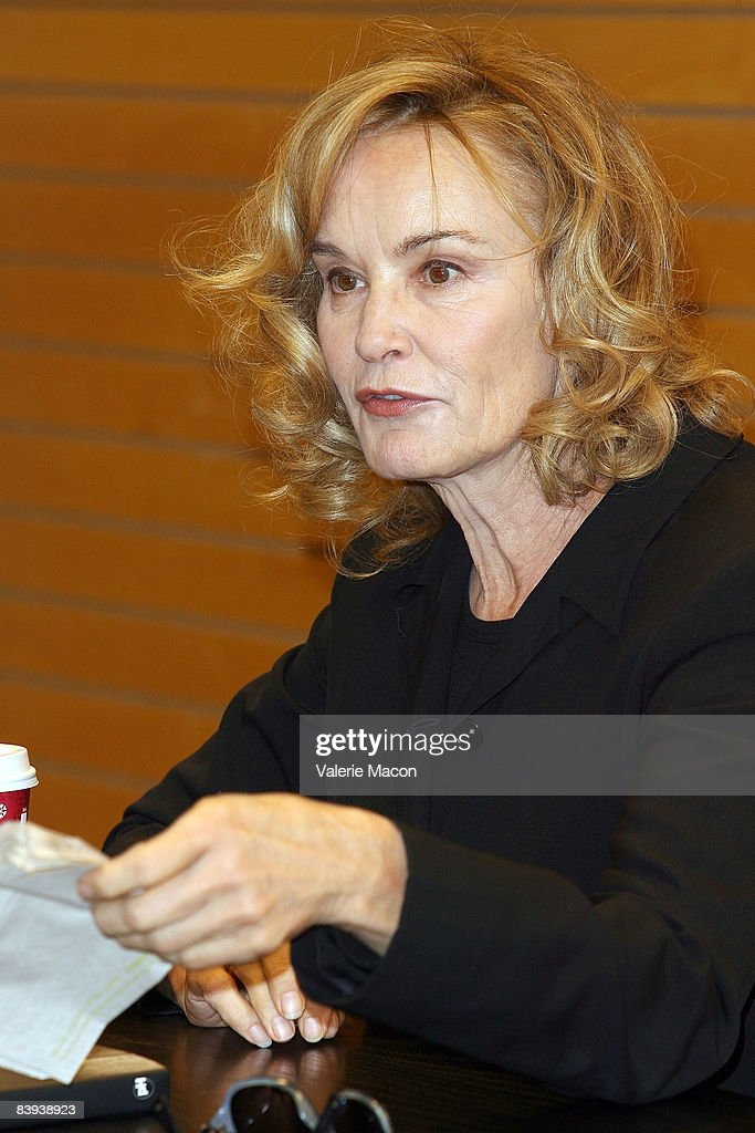 Jessica Lange Book Signing Getty Images