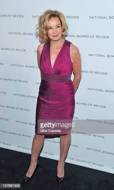 Actress Jessica Lange attends the 2011 National Board of Review of Motion Pictures Gala at Cipriani 42nd Street on January 11 2011 in New York City