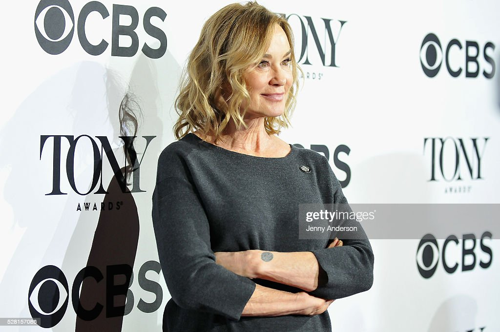 Actress <a gi-track='captionPersonalityLinkClicked' href=/galleries/search?phrase=Jessica+Lange&family=editorial&specificpeople=203310 ng-click='$event.stopPropagation()'>Jessica Lange</a> attends the 2016 Tony Awards Meet The Nominees Press Reception on May 4, 2016 in New York City.