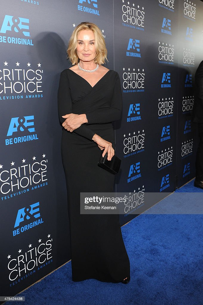 Actress <a gi-track='captionPersonalityLinkClicked' href=/galleries/search?phrase=Jessica+Lange&family=editorial&specificpeople=203310 ng-click='$event.stopPropagation()'>Jessica Lange</a> attends the 5th Annual Critics' Choice Television Awards at The Beverly Hilton Hotel on May 31, 2015 in Beverly Hills, California.