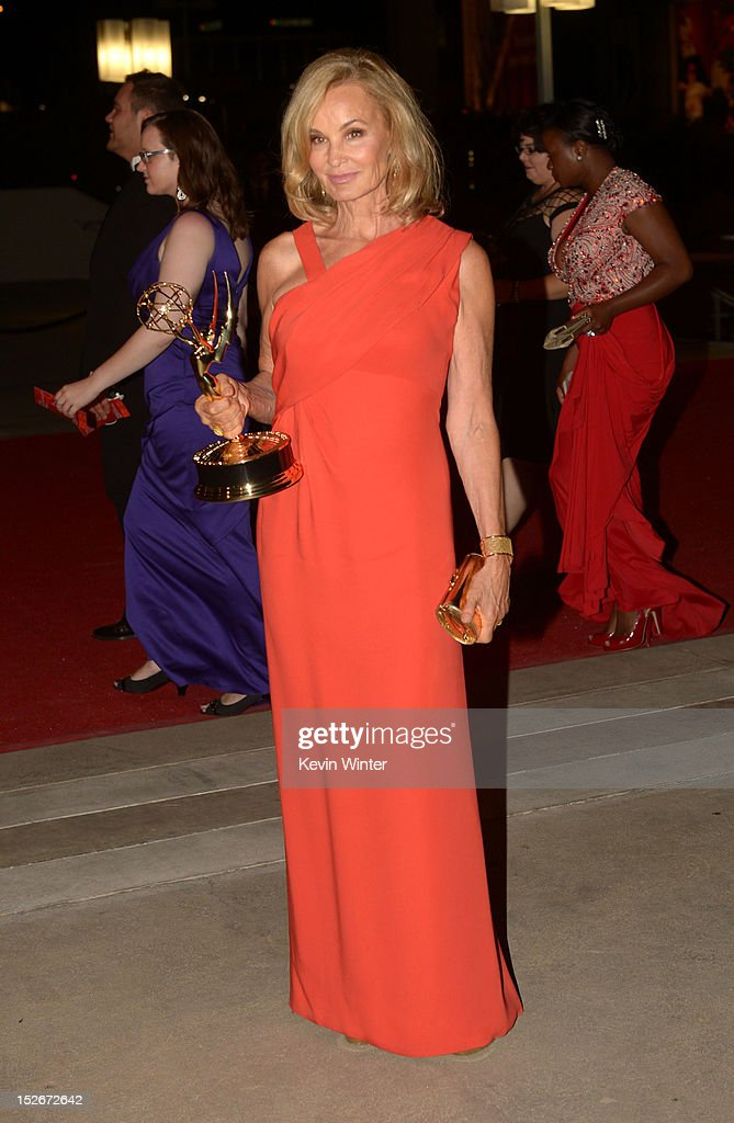 Actress Jessica Lange attends the 64th Annual Primetime Emmy Awards Governors Ball at Nokia Theatre L.A. Live on September 23, 2012 in Los Angeles, California.
