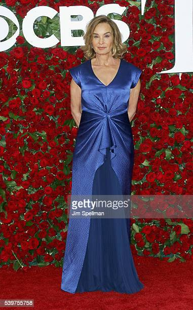 Actress Jessica Lange attends the 70th Annual Tony Awards at Beacon Theatre on June 12 2016 in New York City