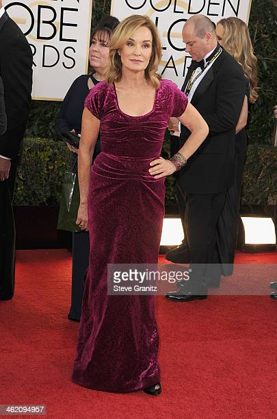 Actress Jessica Lange attends the 71st Annual Golden Globe Awards held at The Beverly Hilton Hotel on January 12 2014 in Beverly Hills California