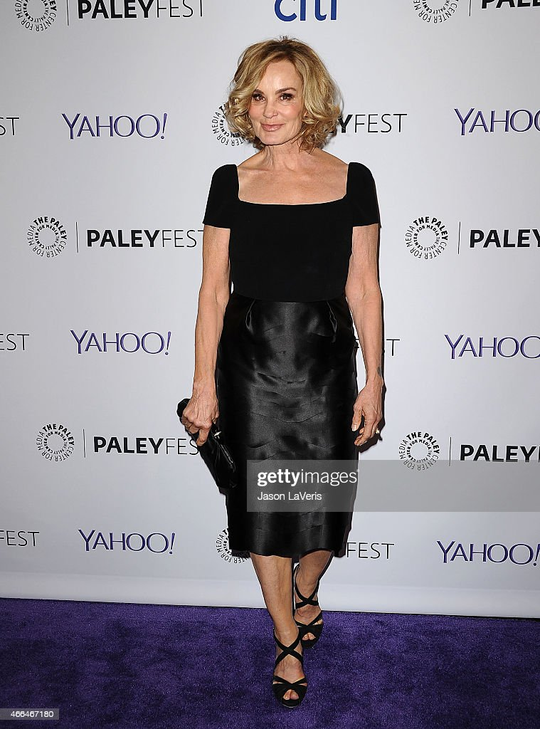 Actress <a gi-track='captionPersonalityLinkClicked' href=/galleries/search?phrase=Jessica+Lange&family=editorial&specificpeople=203310 ng-click='$event.stopPropagation()'>Jessica Lange</a> attends the 'American Horror Story: Freak Show' event at the 32nd annual PaleyFest at Dolby Theatre on March 15, 2015 in Hollywood, California.