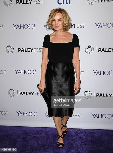 Actress Jessica Lange attends the 'American Horror Story Freak Show' event at the 32nd annual PaleyFest at Dolby Theatre on March 15 2015 in...