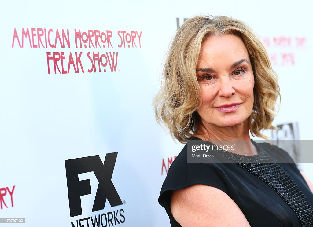 Actress <a gi-track='captionPersonalityLinkClicked' href=/galleries/search?phrase=Jessica+Lange&family=editorial&specificpeople=203310 ng-click='$event.stopPropagation()'>Jessica Lange</a> attends the 'For Your Consideration' special screening and Q&A for FX's 'American Horror Story Freakshow' held at Paramount Studios on June 11, 2015 in Los Angeles, California.