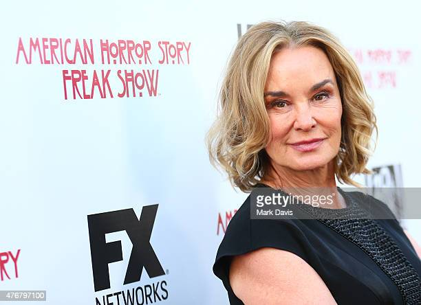 Actress Jessica Lange attends the 'For Your Consideration' special screening and QA for FX's 'American Horror Story Freakshow' held at Paramount...