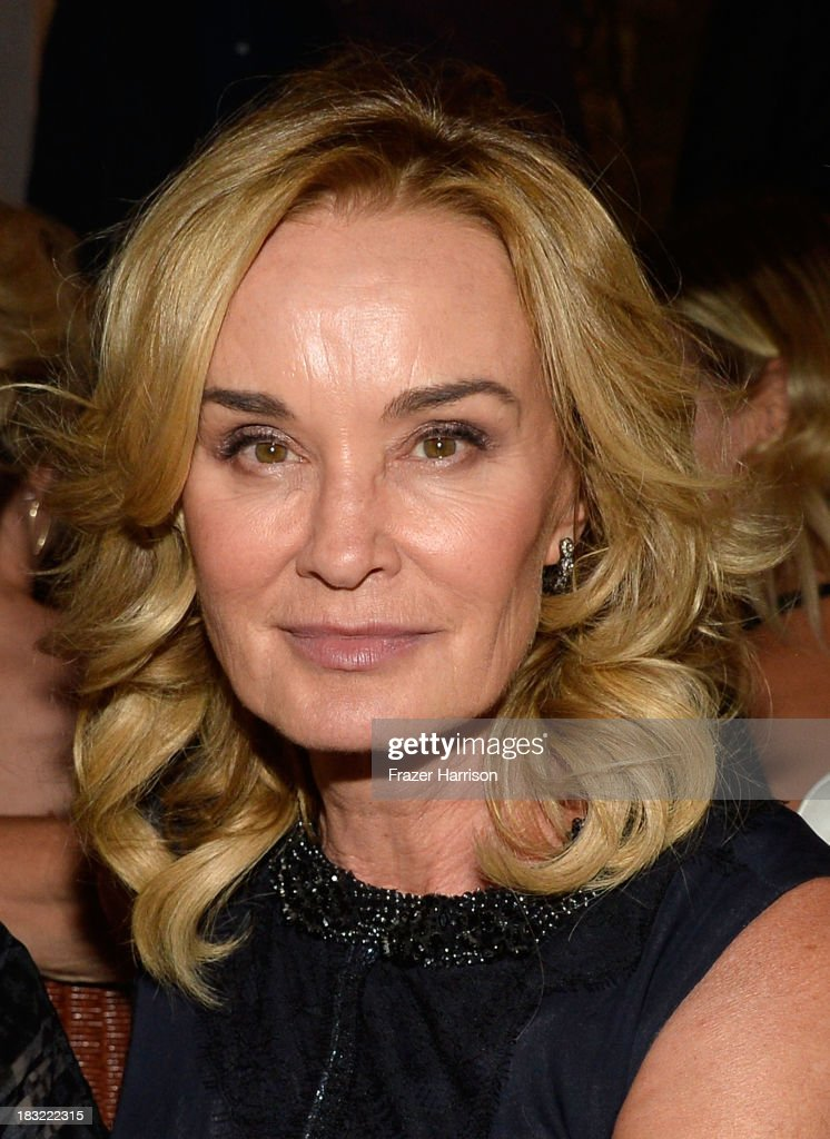 Actress <a gi-track='captionPersonalityLinkClicked' href=/galleries/search?phrase=Jessica+Lange&family=editorial&specificpeople=203310 ng-click='$event.stopPropagation()'>Jessica Lange</a> attends the Premiere Of FX's 'American Horror Story: Coven' after party at Fig & Olive Melrose Place on October 5, 2013 in West Hollywood, California.