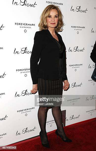 Actress Jessica Lange attends the premiere of 'In Secret' at ArcLight Hollywood on February 6 2014 in Hollywood California