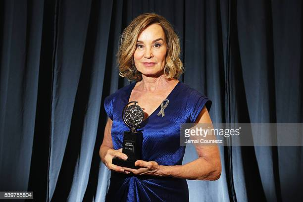 Actress Jessica Lange poses for a portrait at 2016 Tony Awards at The Beacon Theatre on June 12 2016 in New York City