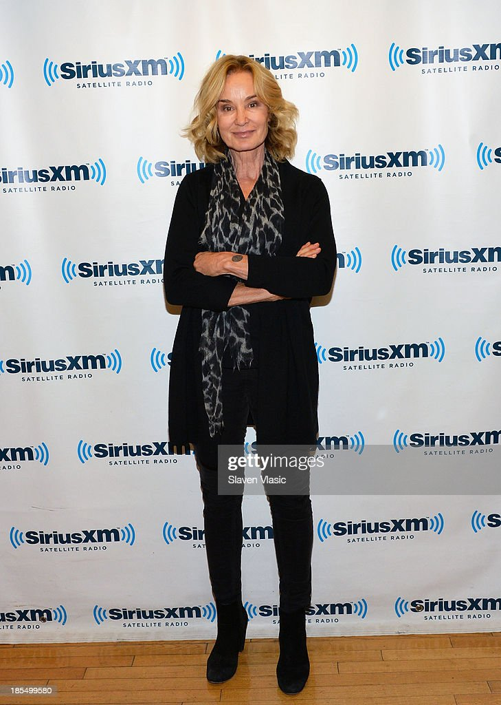 Actress <a gi-track='captionPersonalityLinkClicked' href=/galleries/search?phrase=Jessica+Lange&family=editorial&specificpeople=203310 ng-click='$event.stopPropagation()'>Jessica Lange</a> visits SiriusXM Studios on October 21, 2013 in New York City.