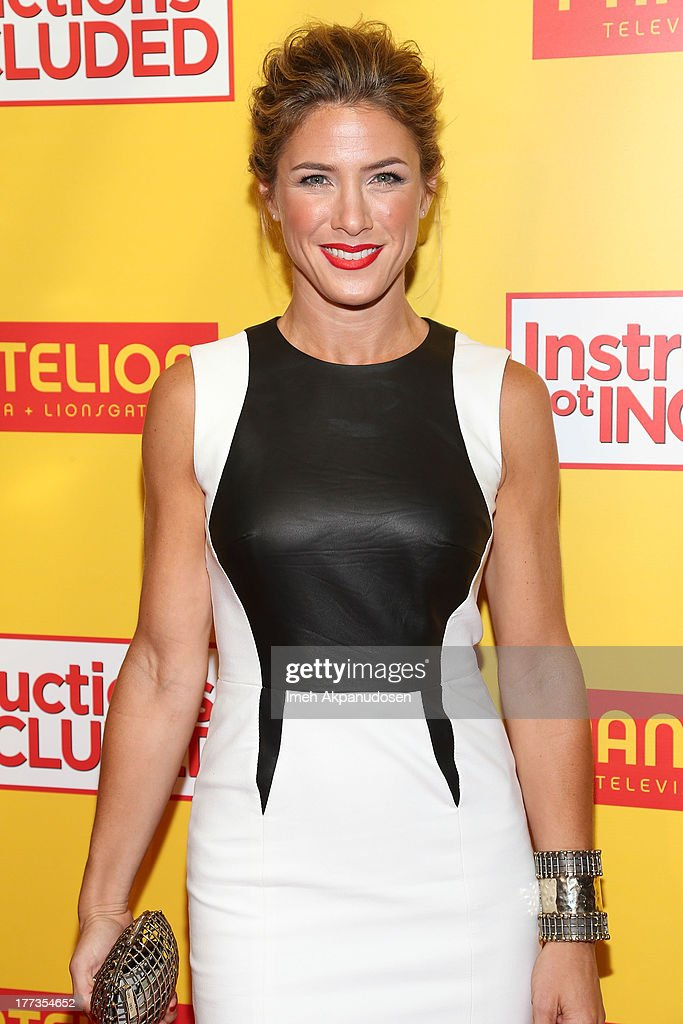 Actress Jessica Lindsey attends the premiere of Pantelion Films' 'Instructions Not Included' at TCL Chinese Theatre on August 22, 2013 in Hollywood, California.