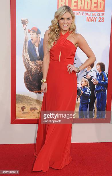 Actress Jessica Lowe arrives at the Los Angeles Premiere 'Blended' at TCL Chinese Theatre on May 21 2014 in Hollywood California